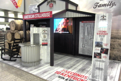 Jim-Beam-Messestand